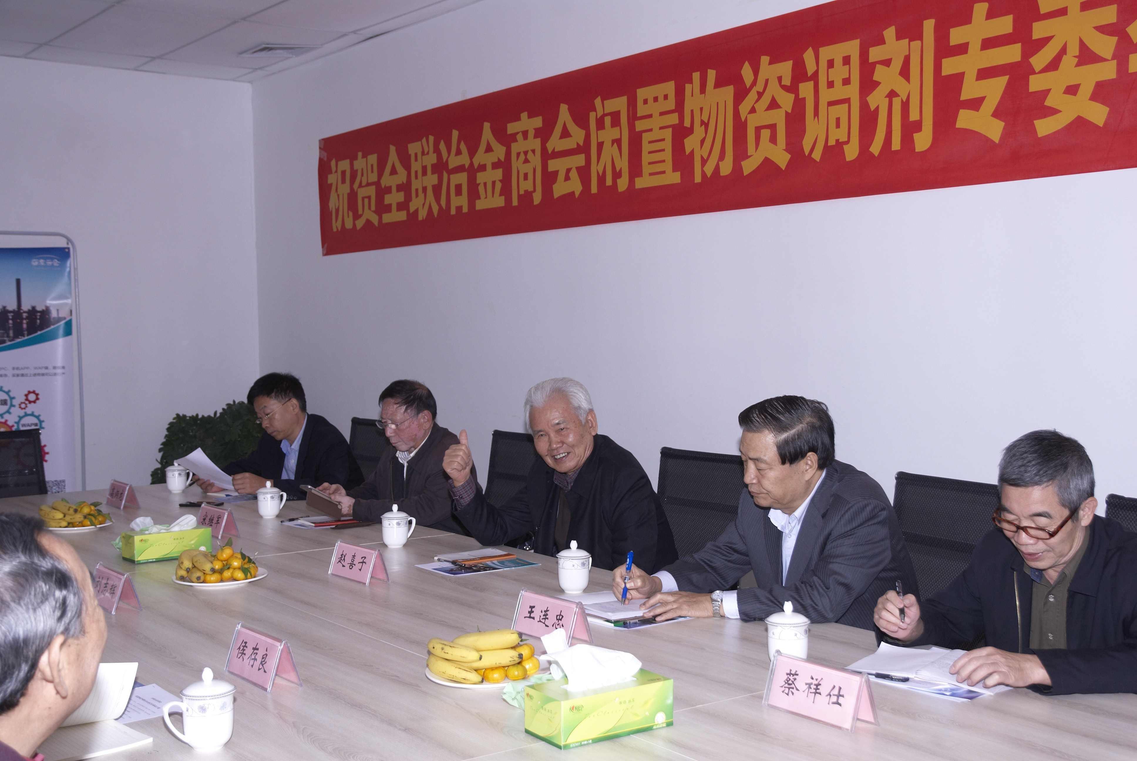 The leader of China Metallugical Associational visit our company